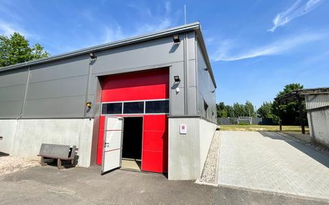 Neubau Nachschubhalle Stützpunktfeuerwehr Eltville, 2019-2020