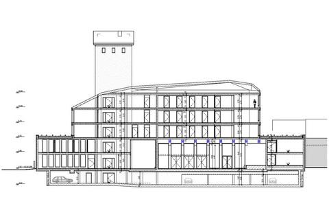 WTS 26 Wiesbaden-Biebrich (Errichtung eines Verwaltungsgebäudes mit Bürgersaal und Tiefgarage) 2021