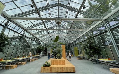 Palmengarten Frankfurt am Main, Neubau Blüten- und Schmetterlingshaus, 2014-2021